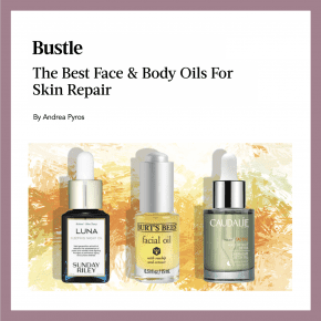 Dr. Polder featured in Bustle article, The Best Face & Body Oils For Skin Repair